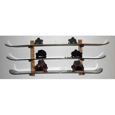 Del Sol Racks Snowboard Storage 3 Space Level