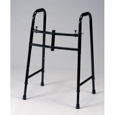 TFI Double Button Folding Walker in Black