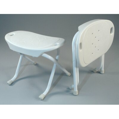 TFI Foldable Bath Bench in White