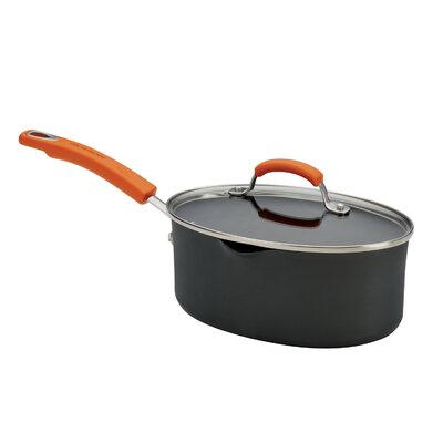 Hard Anodized II 3-qt. Saucepan with Lid