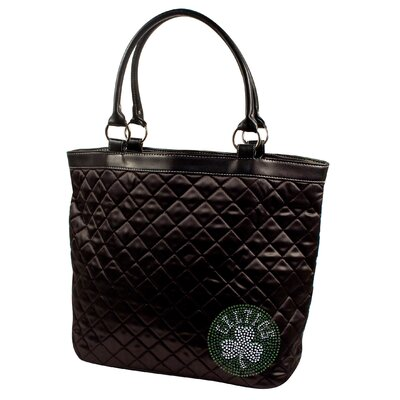 Little Earth NBA Sport Noir Quilted Tote Bag