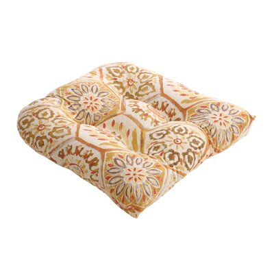 Pillow Perfect Summer Breeze Chair Cushion
