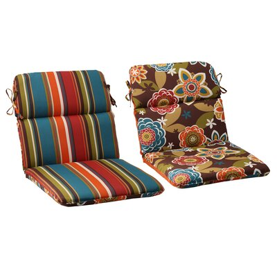 Pillow Perfect Annie / Westport Reversible Chair Cushion