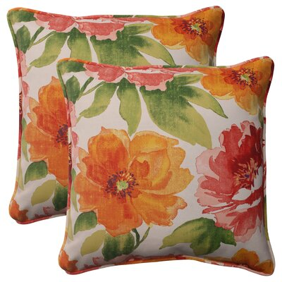 Pillow Perfect Primro Corded Throw Pillow (Set of 2)