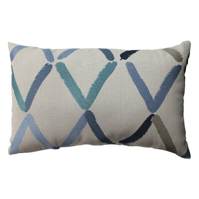 Diamonte Geo Polyester Throw Pillow