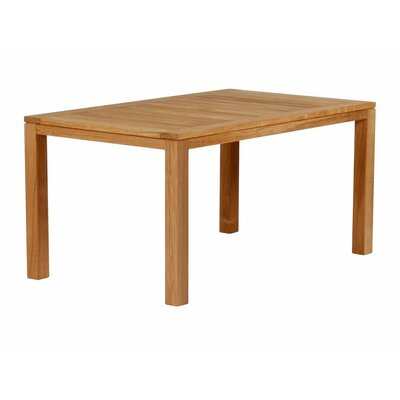 Barlow Tyrie Metzo Rectangular Teak Dining Table