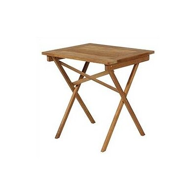 Barlow Tyrie Teak Safari Rectangular Side Table