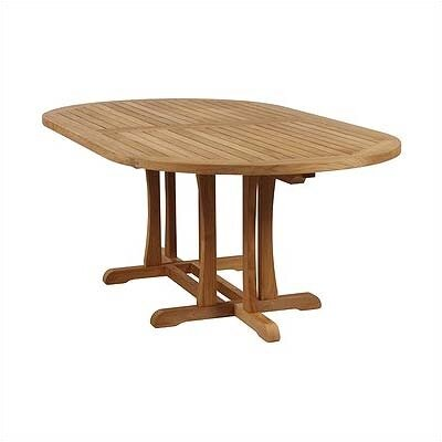 Barlow Tyrie Teak Stirling Oval Dining Table
