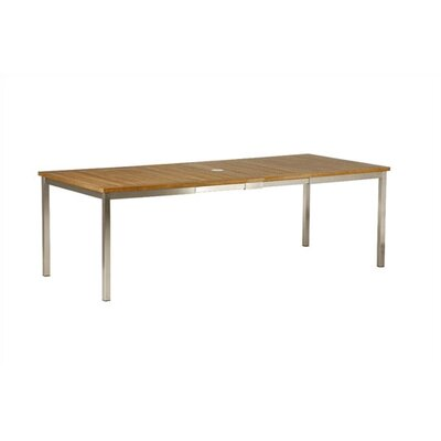 Barlow Tyrie Teak Equinox Extending Dining Table