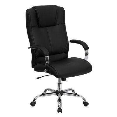 Flash Furniture Leather High-Back Executive Chair