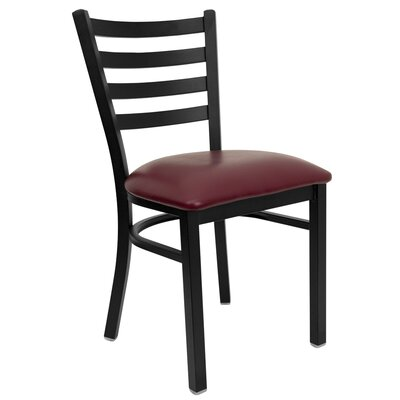 Flash Furniture Hercules Series Ladder Back Side Chair