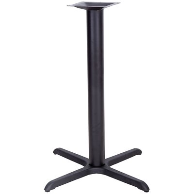 Flash Furniture Restaurant Table X-Base with Bar Height Column
