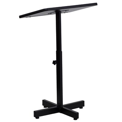 Flash Furniture Adjustable Height Metal Lectern
