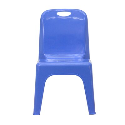 "Flash Furniture 11"" Plastic Classroom Stackable School Chair"