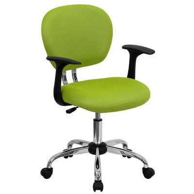 Flash Furniture Mid-Back Task Chair with Arms