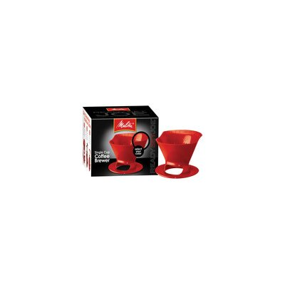 Melitta Ready Set Joe Filter Cone in Red