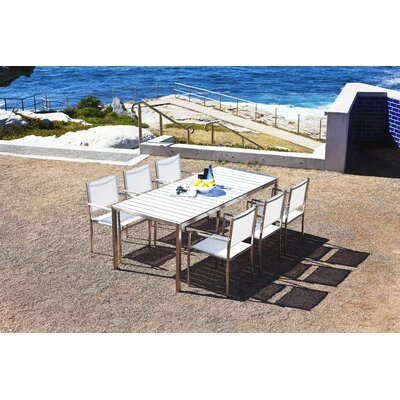 Harbour Outdoor Soho 7 Piece Dining Set