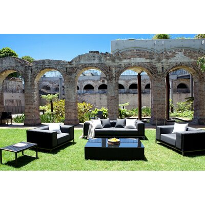 Harbour Outdoor Coast Deep Seating Group with Cushions