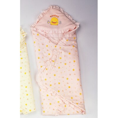 Piyo Piyo Anti Dust Mite Winter Receiving Blanket in Pink