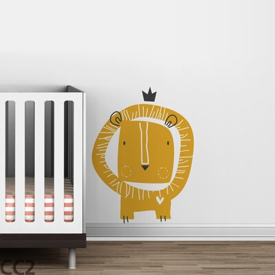 LittleLion Studio Baby Zoo Lion King Wall Decal