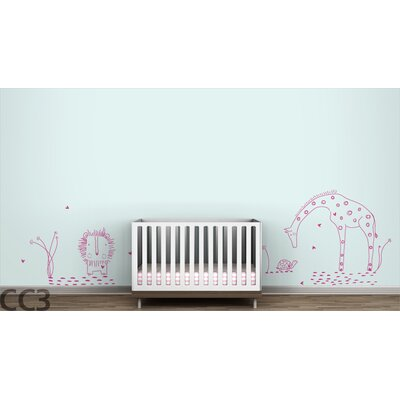 "LittleLion Studio Fauna ""You Are My Sunshine"" Wall Decal"