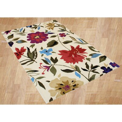 Alliyah Rugs New Delhi Flower Rug