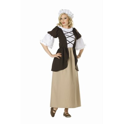 RG Costumes Colonial Peasant Adult Dress