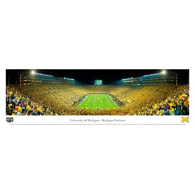 Blakeway Worldwide Panoramas, Inc NCAA University of Michigan Unframed Panorama