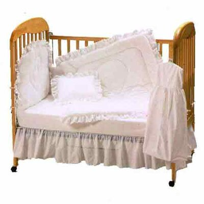 Baby Doll Bedding Carnation Eyelet Port-a-Crib Bedding Set