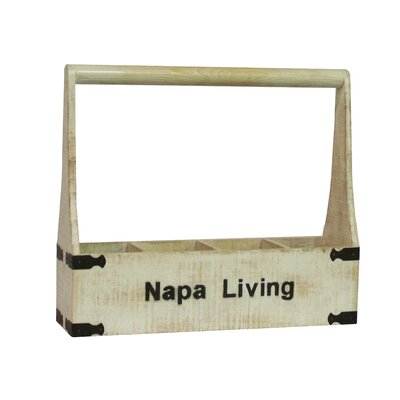 Antique Revival Napa Living 4 Bottle Wine Holder