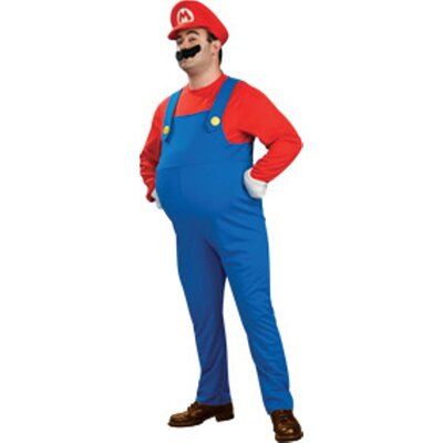 Super Mario Deluxe Adult Costume