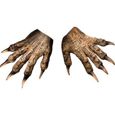 Rubies Wolfman Latex Gloves