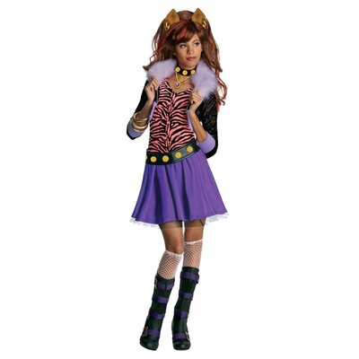 Rubies Monster High Clawdeen Wolf Costume