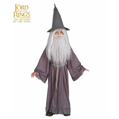 Rubies The Lord of the Rings Gandalf Child Costume