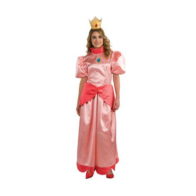 Super Mario Princess Peach Adult Costume