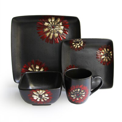 Camile 16 Piece Dinnerware Set