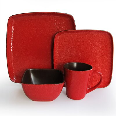 American Atelier Caliente 16 Piece Dinnerware Set