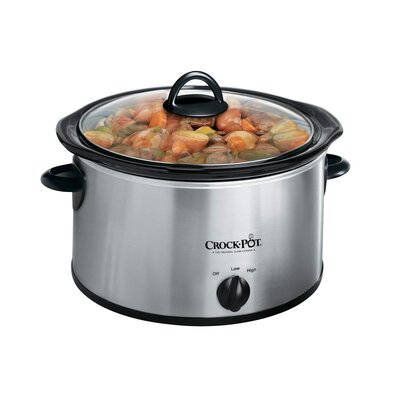 Crock-pot 4 Quart Round Manual Slow Cooker
