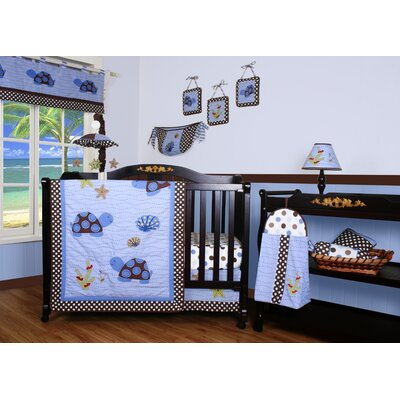 Boutique Sea Turtle 12 Piece Crib Bedding Set