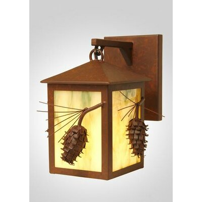 Steel Partners Ponderosa Pine Small Hanging 1 Light Wall Sconce