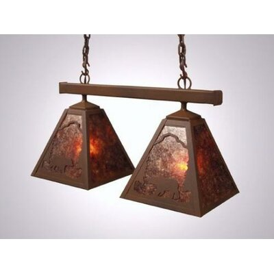 Steel Partners Bear Double Anacosti Light Pendant