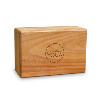 Wai Lana 4&quot; Teak Yoga Block