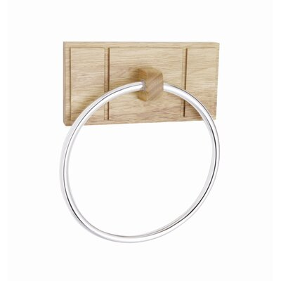 Croydex Maine Oak Towel Ring