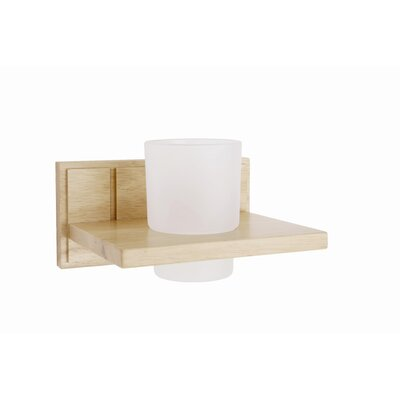 Croydex Maine Oak Tumbler Holder
