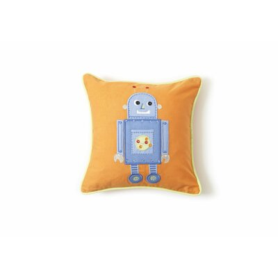 The Little Acorn Blue Robot Pillow