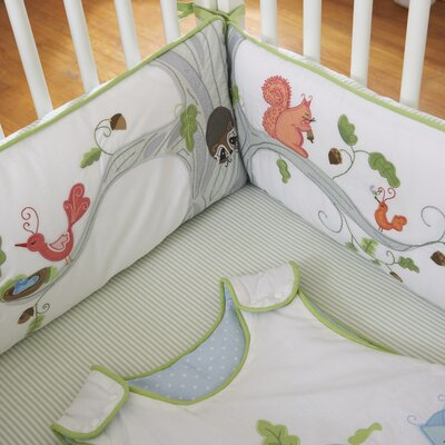 The Little Acorn Wishing Tree Baby 4 Piece Crib Bedding Set