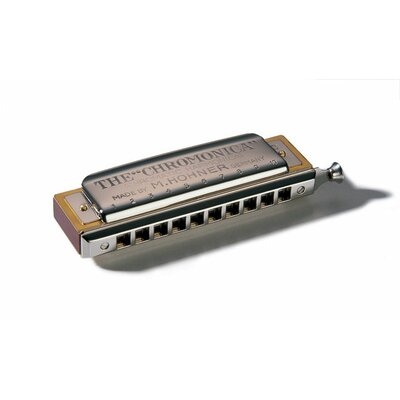 Hohner Chromonica Harmonica in Chrome - Key of G