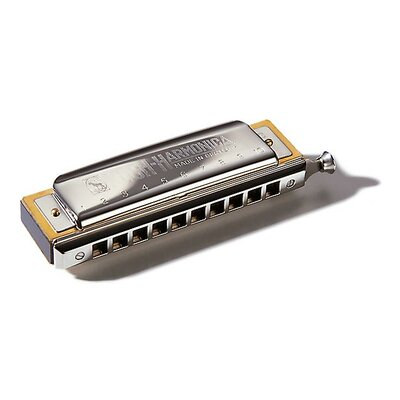 Hohner Koch Chromatic Harmonica in Chrome - Key of C