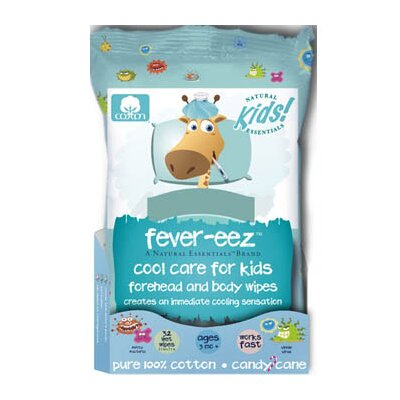 Natural Essentials Natural Essentials Fever-Eez Fever Care Wipes