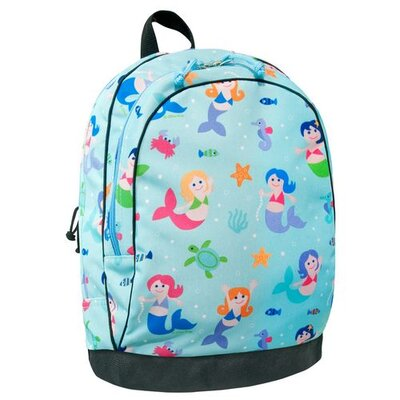 Wildkin Olive Kids Mermaids Backpack in Blue